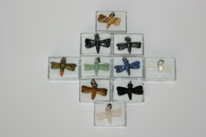 dragonfly soapstone carving