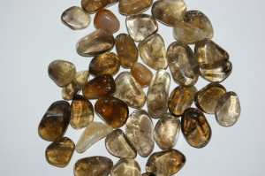 citrine (medium, tumbled)