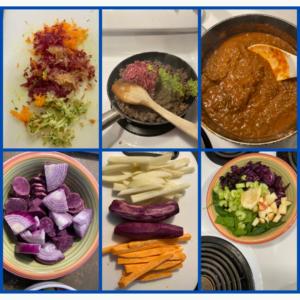 Purple food resonance SoleHealing
